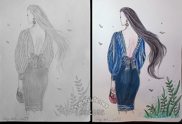 Taipei Life Fashion Illustration Watercolour Romanticism Yalan雅岚文艺博客